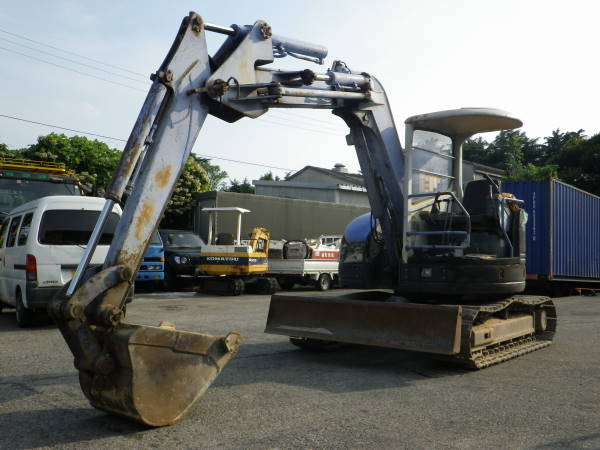 CATERPILLAR MITSUBISHI HYDRAULIC EXCAVATOR / MM55SR – JIKO