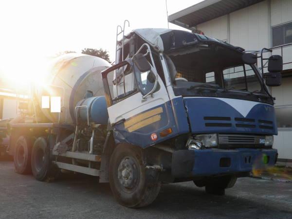 Nissan Diesel Truck >> Nissan Diesel Ud Concrete Mixer Truck U Cw520hn Jiko Trading